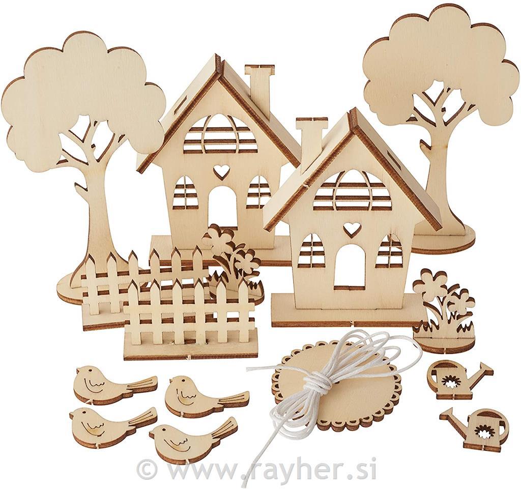 Kit bricolage legno casette giardino for Bricolage legno