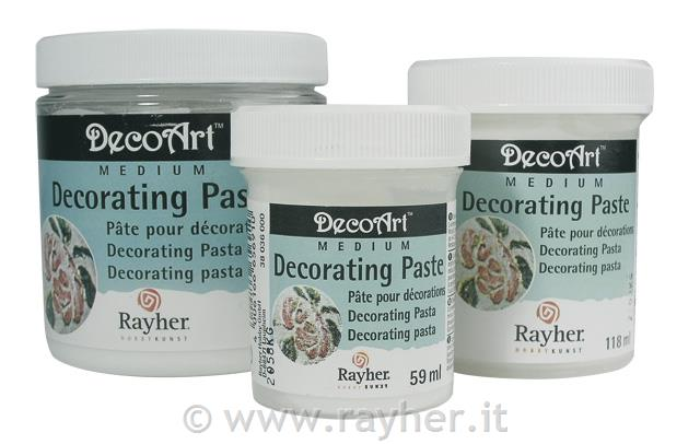 Paste decorative